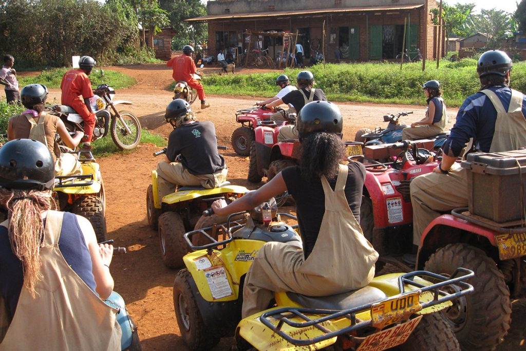 Quad Biking in Jinja at the source of the nile