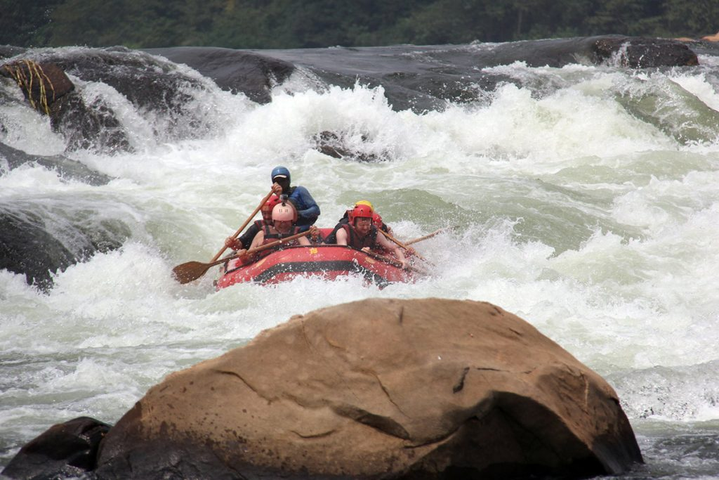 White Water Rafting Jinja on the Nile