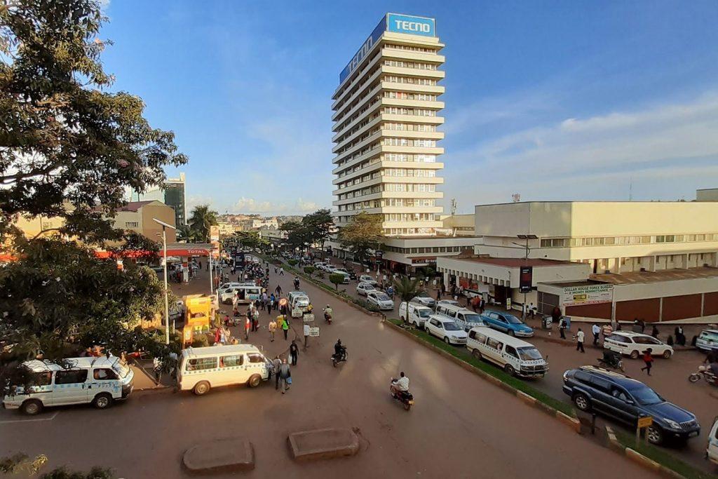 Central Kampala City Road