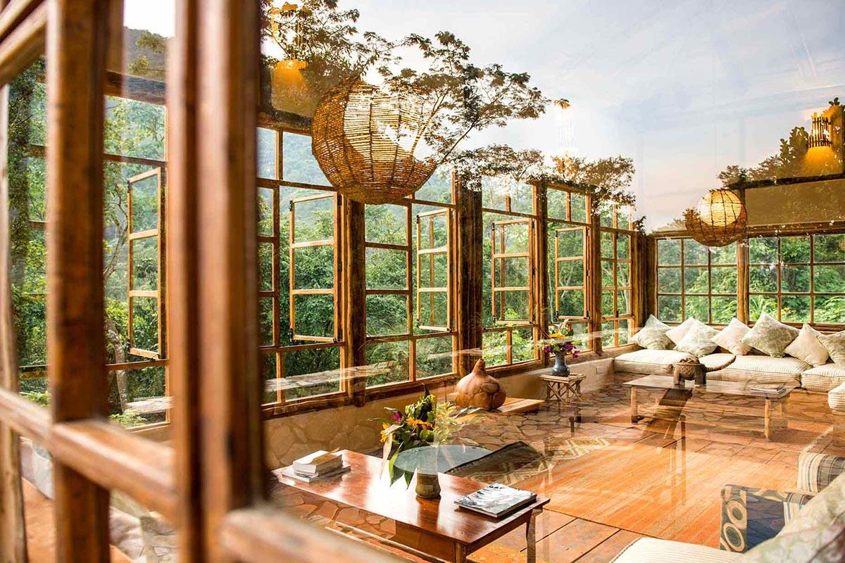 Volcanoes Bwindi Luxury lodge
