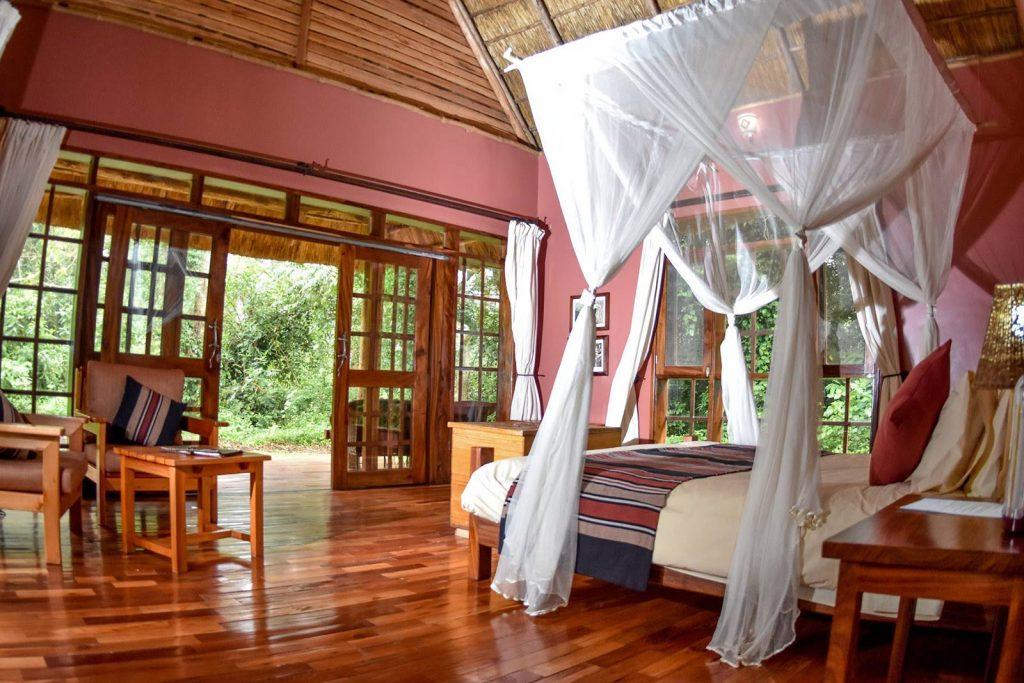 My room at primate Lodge in Kibale Forest - Uganda safri experience