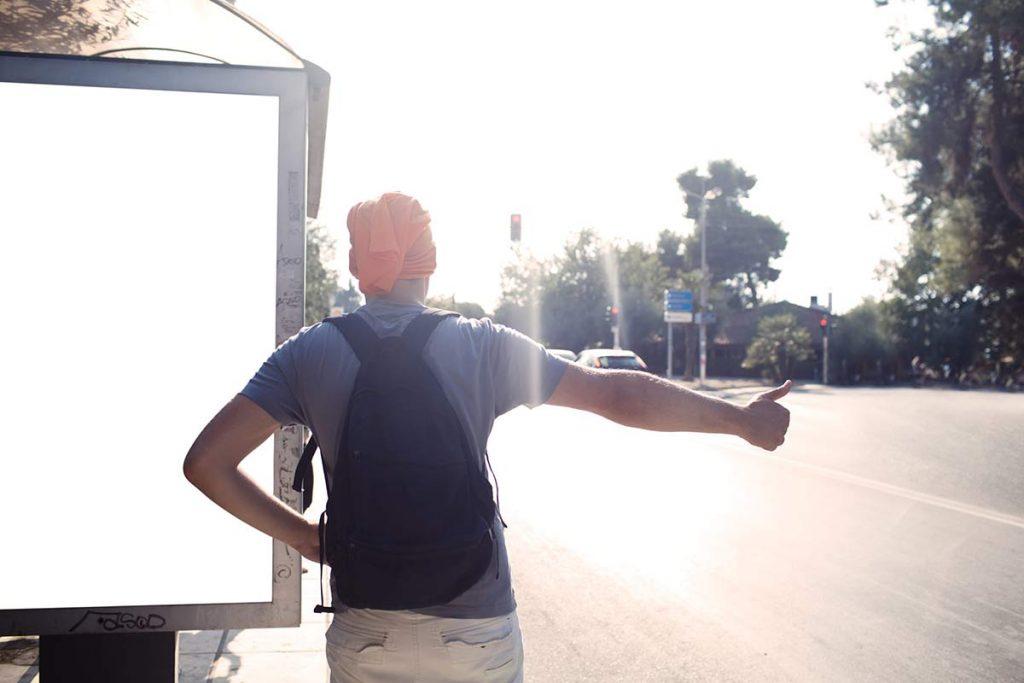 Hitching in uganda road transport