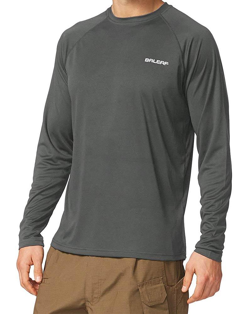 Dri fit, light weight sun protection safari t-shirt