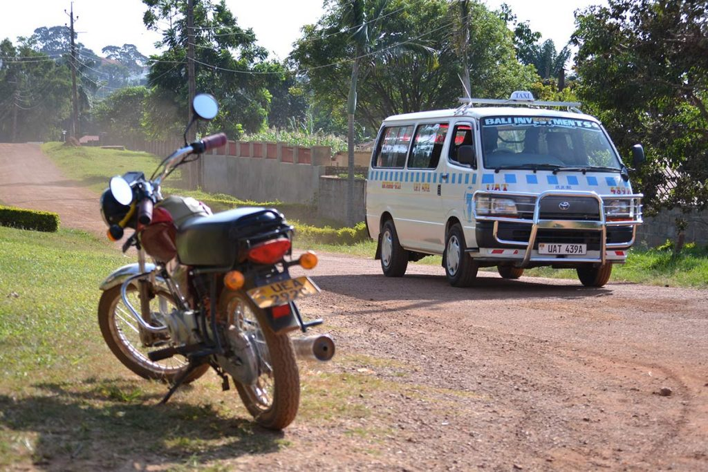 Minibuses as uganda road transport