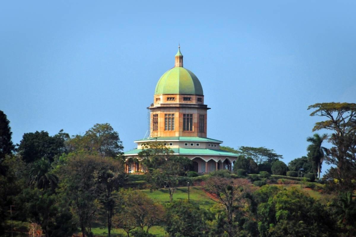 Bahá'í Temple on Kikaaya Hill in Kampala City