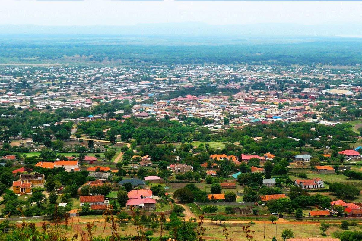 A view of Muyenga Hill