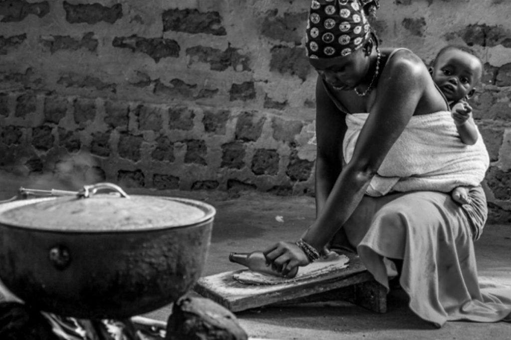 The rural women do the cooking, cleaning, laundry, and take care of the children, as well as work their land. Uganda culture and etiquette